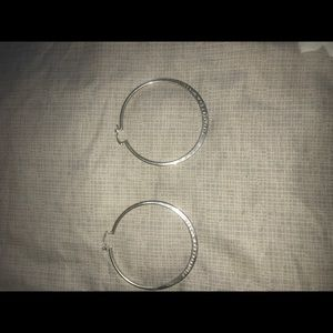 Vintage Tiffany &co hoop earrings